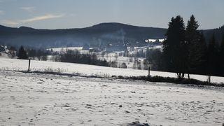 Na Šumavě opět ráno teploty klesly k -20 stupňům
