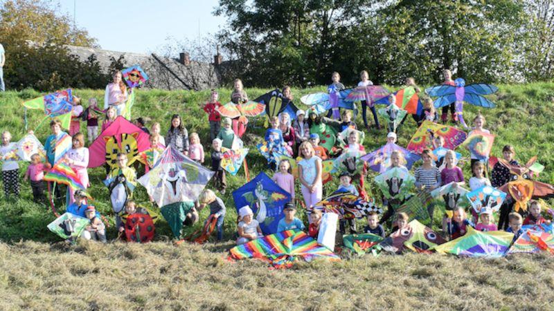 Draci létali nad Leštinou jako oživot