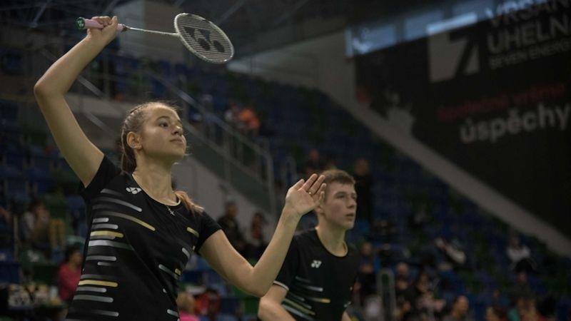 Most hostil badmintonový šampionát starších žáků ažákyň