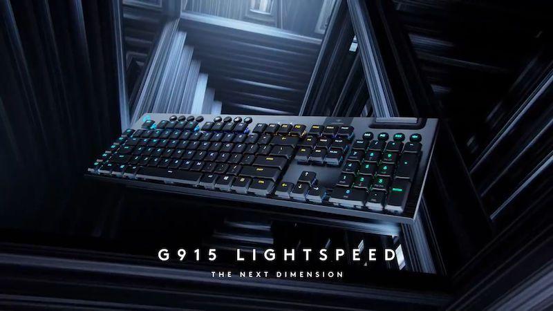 Nejrychlejší bezdrátovou klávesnici vyrobil Logitech. Cena ale nepotěší