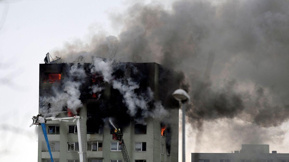 Kvůli výbuchu plynu v prešovském paneláku obvinili tři lidi