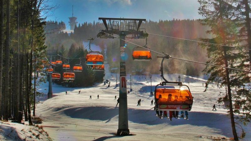 Klínovec hlásí dostatek sněhu klyžování. Ohrožena není ani zimní olympiáda