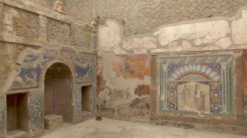 Nejen Pompeje. Zkáze neuniklo ani méně známé Herculaneum