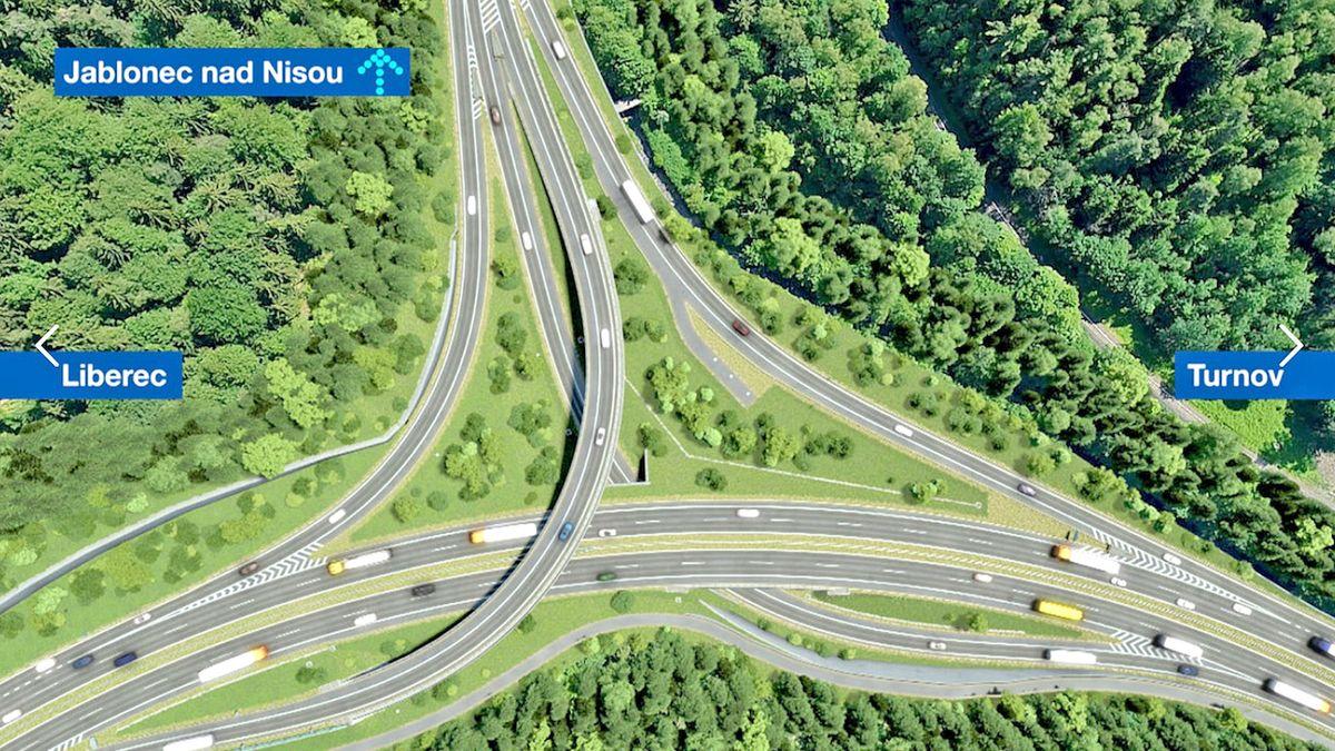 Liberec děsí přestavba křižovatky