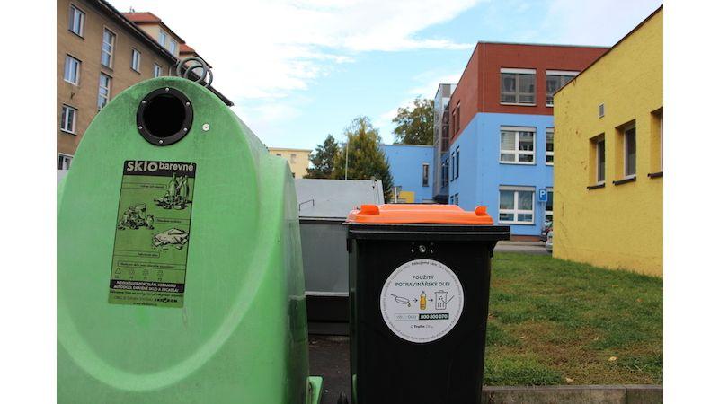 Nové kontejnery podpoří vKrnově třídění odpadu
