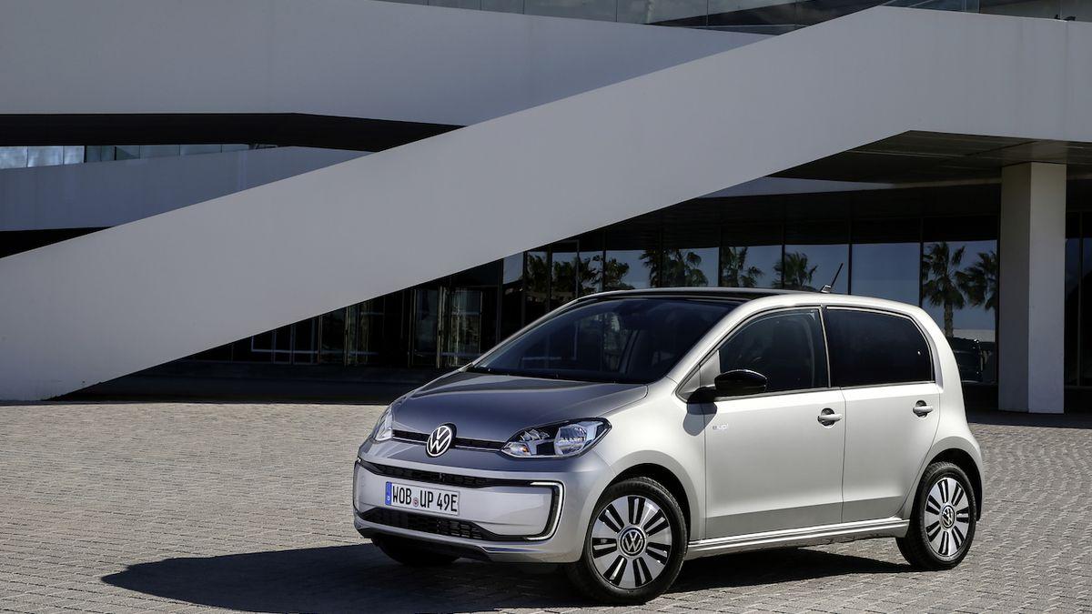 Volkswagen e-Up! po faceliftu