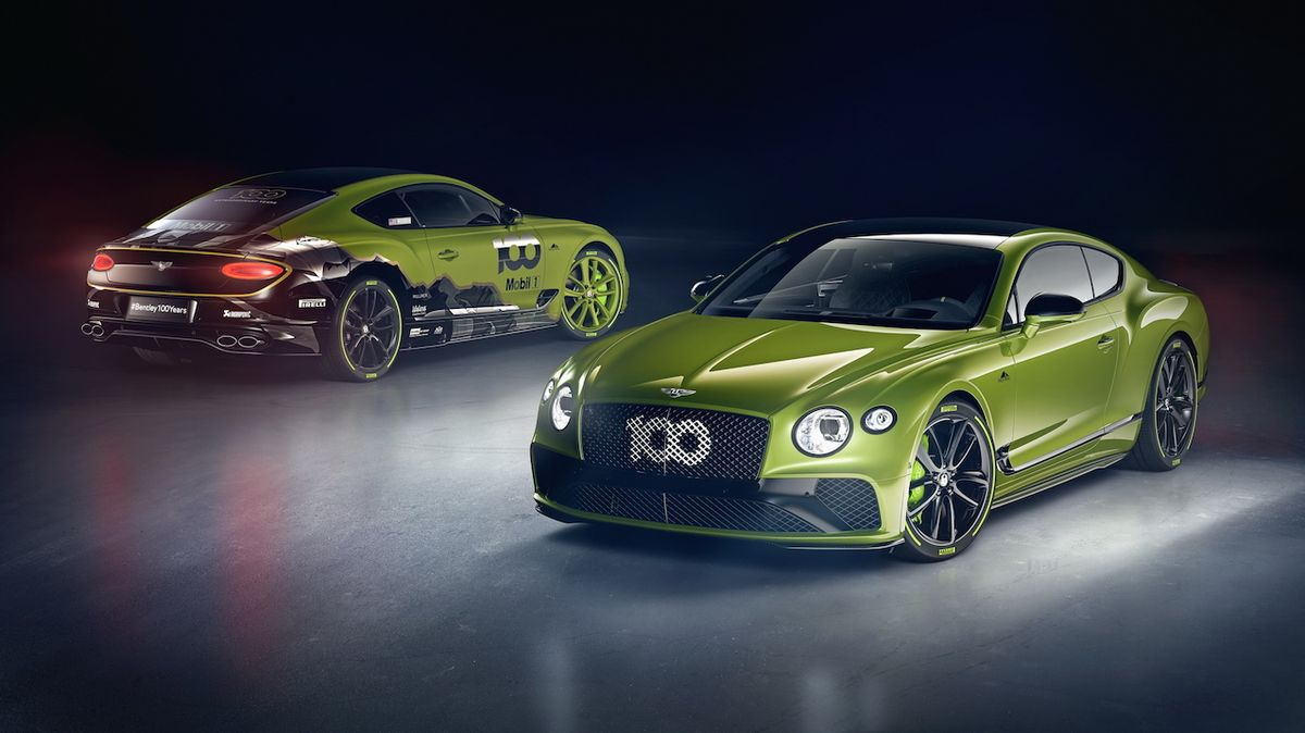 Bentley Continental GT Pikes Peak special edition