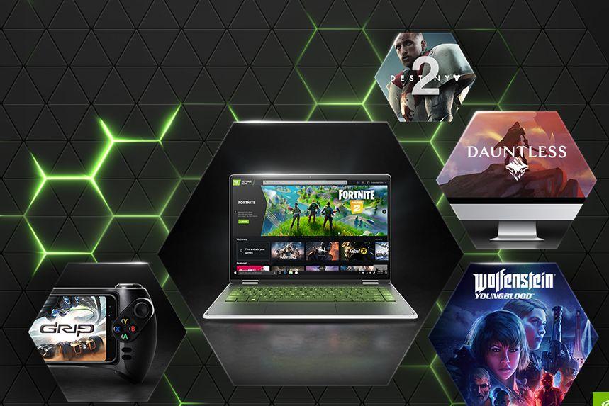Služba GeForce Now je dostupná na celé řadě zařízení.