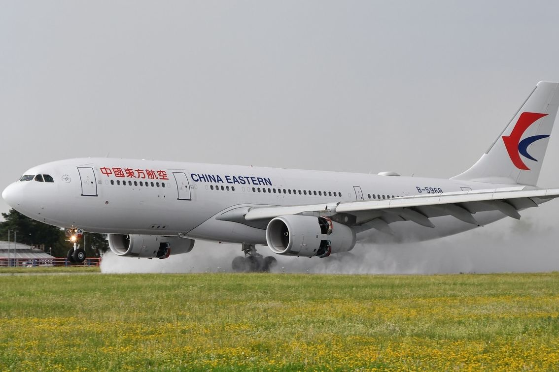 Letadlo China Eastern Airlines