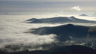 Inverze kouzlila na horách s teplotami