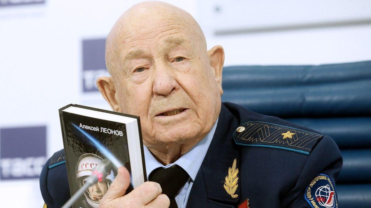 Alexej Leonov na snímku z roku 2017