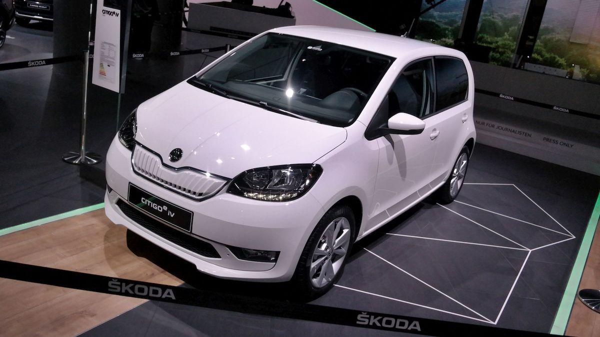 Škoda příští rok plánuje prodat 3200 elektrifikovaných aut