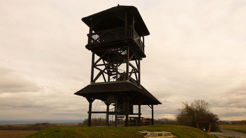 Keltská rozhledna Boika má geologické schody