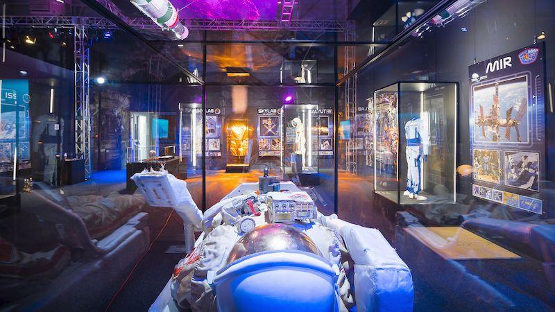 Největší putovní výstava kosmonautiky je v Praze. Věnuje se i budoucnosti vesmírného výzkumu