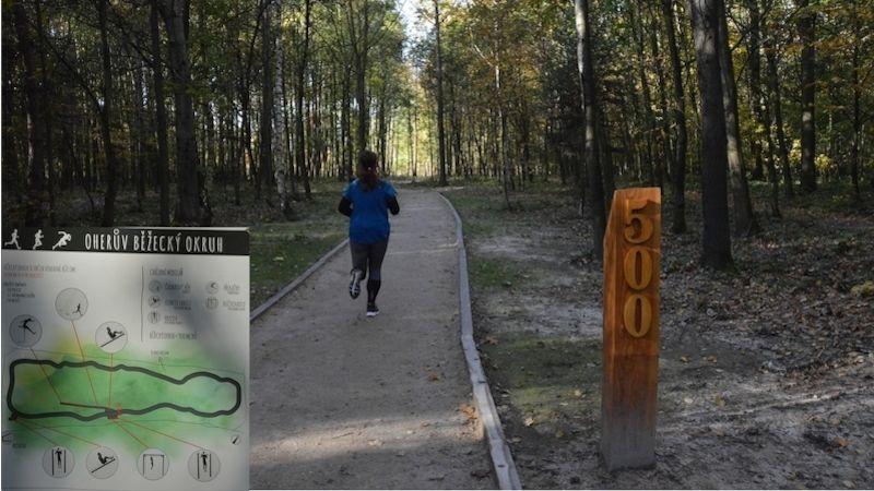 Sportovci otestovali nový běžecký okruh vOstravě-Porubě