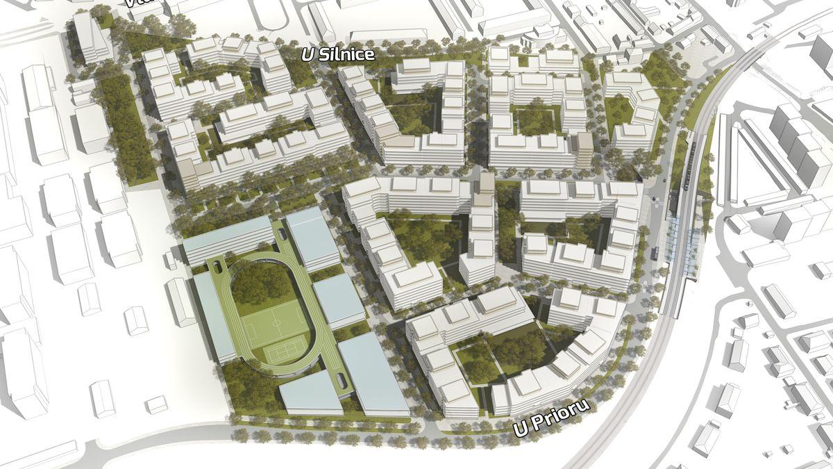 V Praze má vyrůst nová bytová čtvrť za 13 miliard