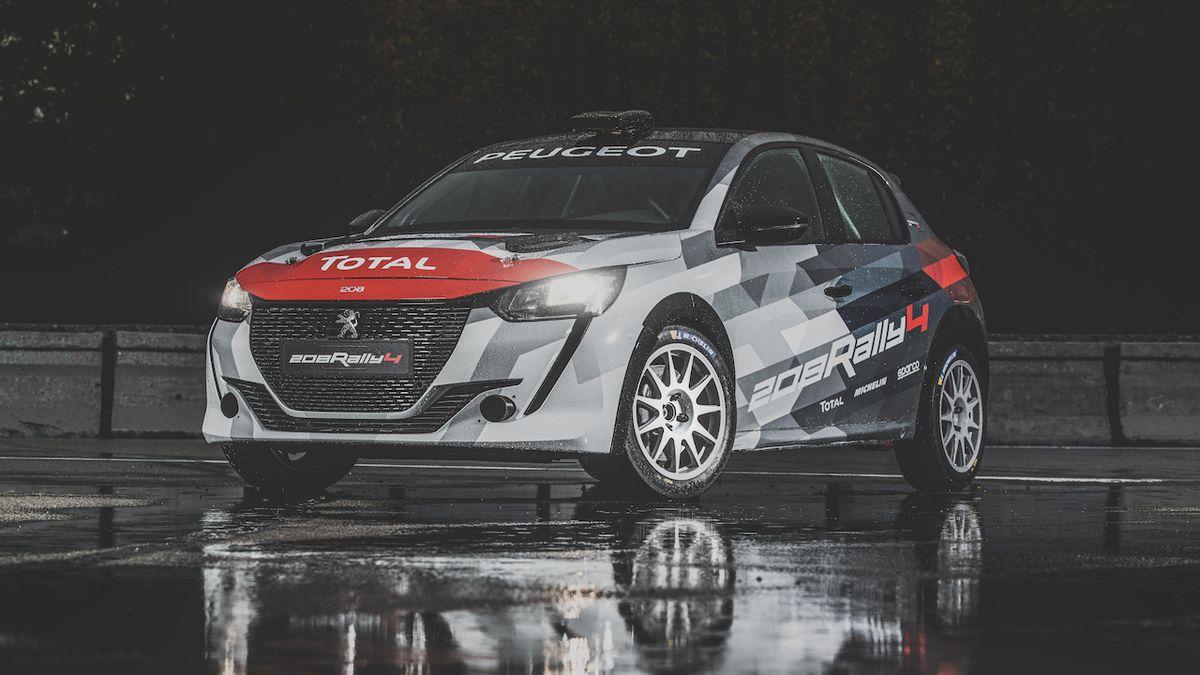 S tříválcem stojí skoro 2 miliony, to je nový rally speciál od Peugeotu