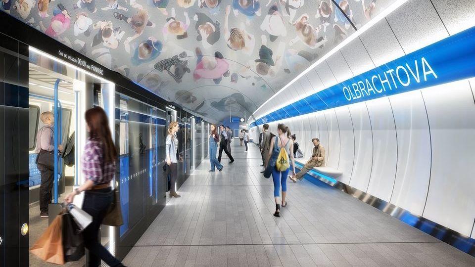 Smlouva na stavbu pražského metra D z Pankráce na Olbrachtovu podepsána