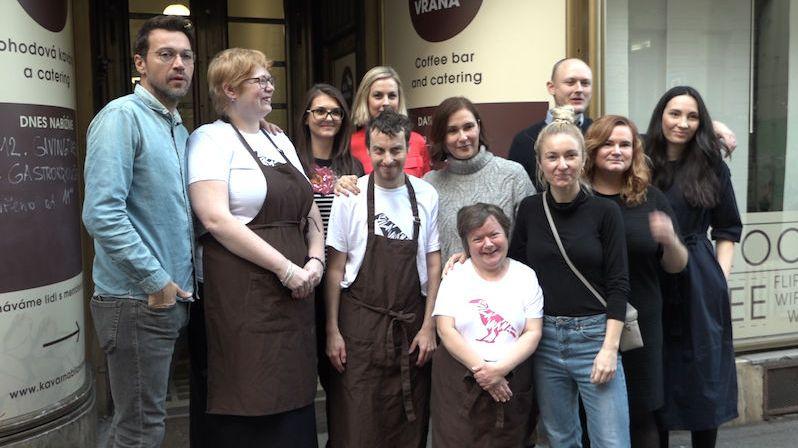 Sociální kavárna není jen dobročinný projekt, ale i místo se skvělým jídlem