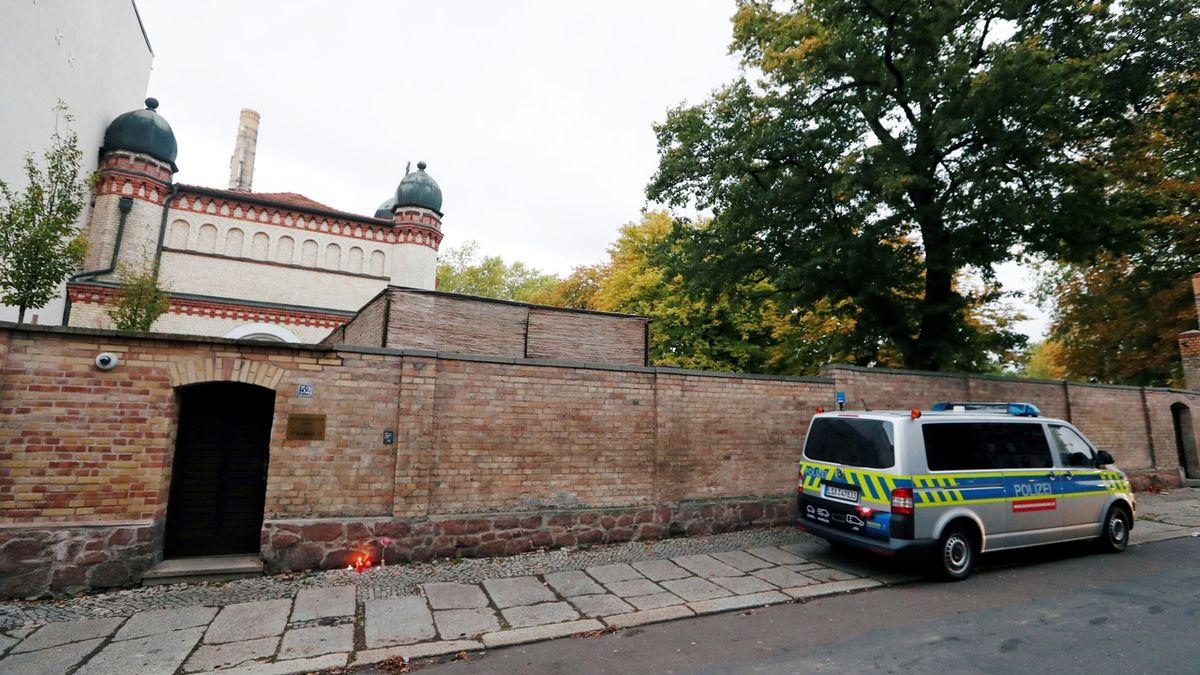 Němec se přiznal k útoku v Halle, motivem byl antisemitismus