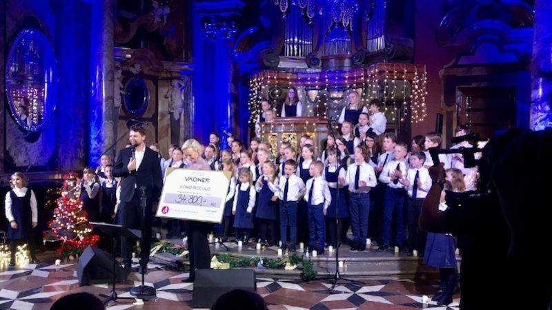 Výtěžek zvánočního koncertu Josefa Vágnera jde na Obědy pro děti