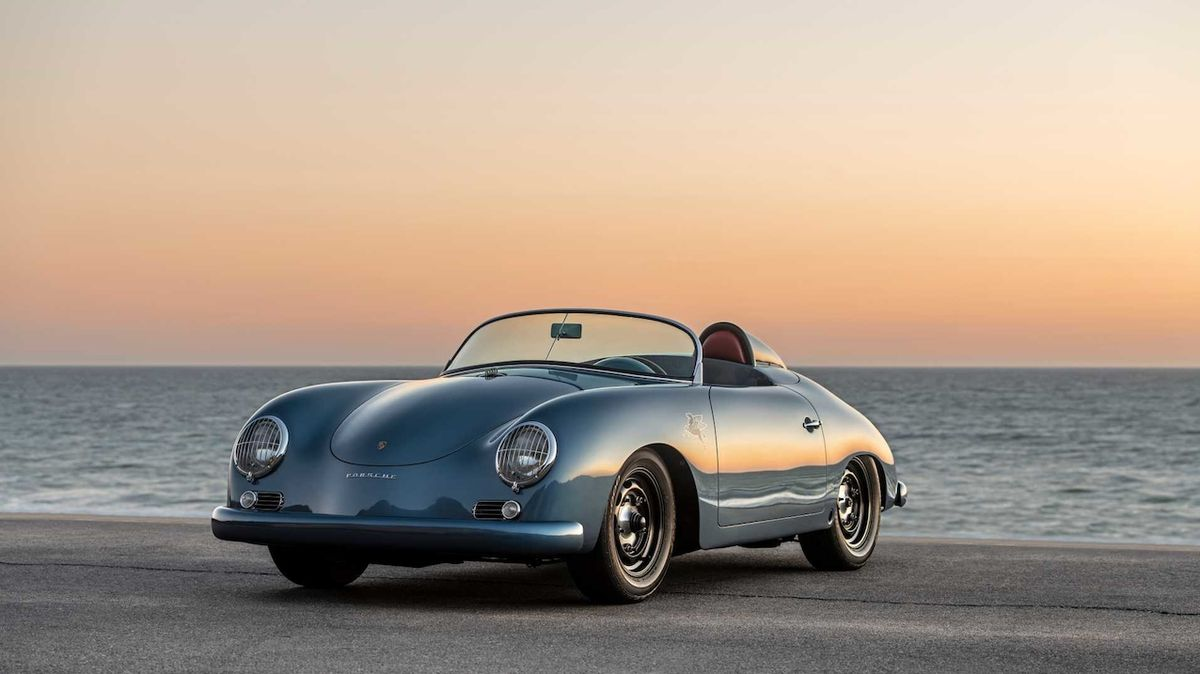 Porsche 356 Speedster Aquamarine Transitional