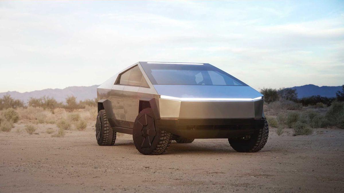 Tesla Cybertruck má potenciální problém. Vztahuje se k jeho nejvýraznějšímu aspektu