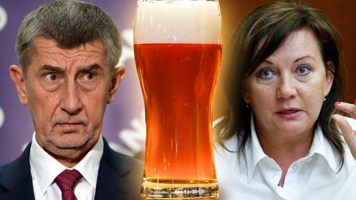 Ať se hospodští podělí a pivo bude levnější, má jasno Babiš