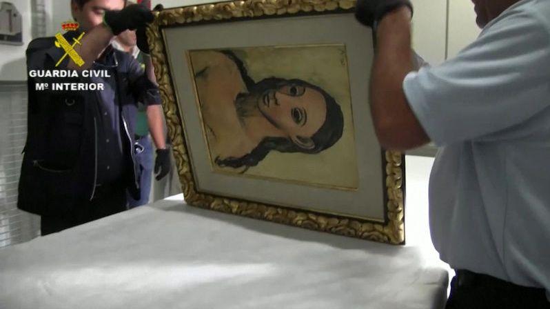 Španělský bankéř zkusil vyvézt Picassa. Přijde o obraz i o svobodu