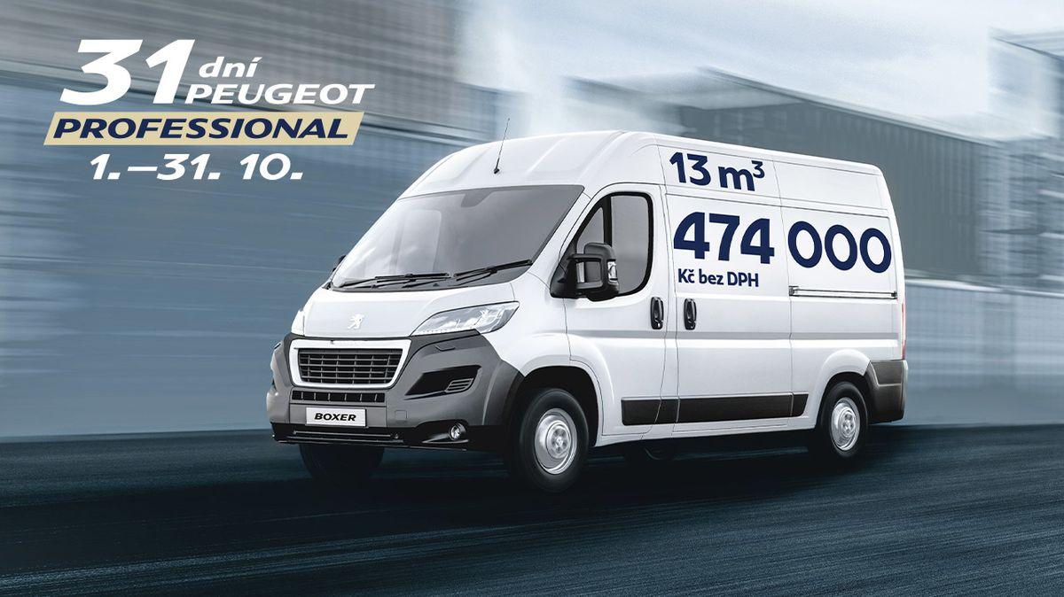 Nepropásněte 31 dní výhod azískejte vůz Peugeot za akční cenu, servis na 3 roky zdarma aúvěr 4,5 %