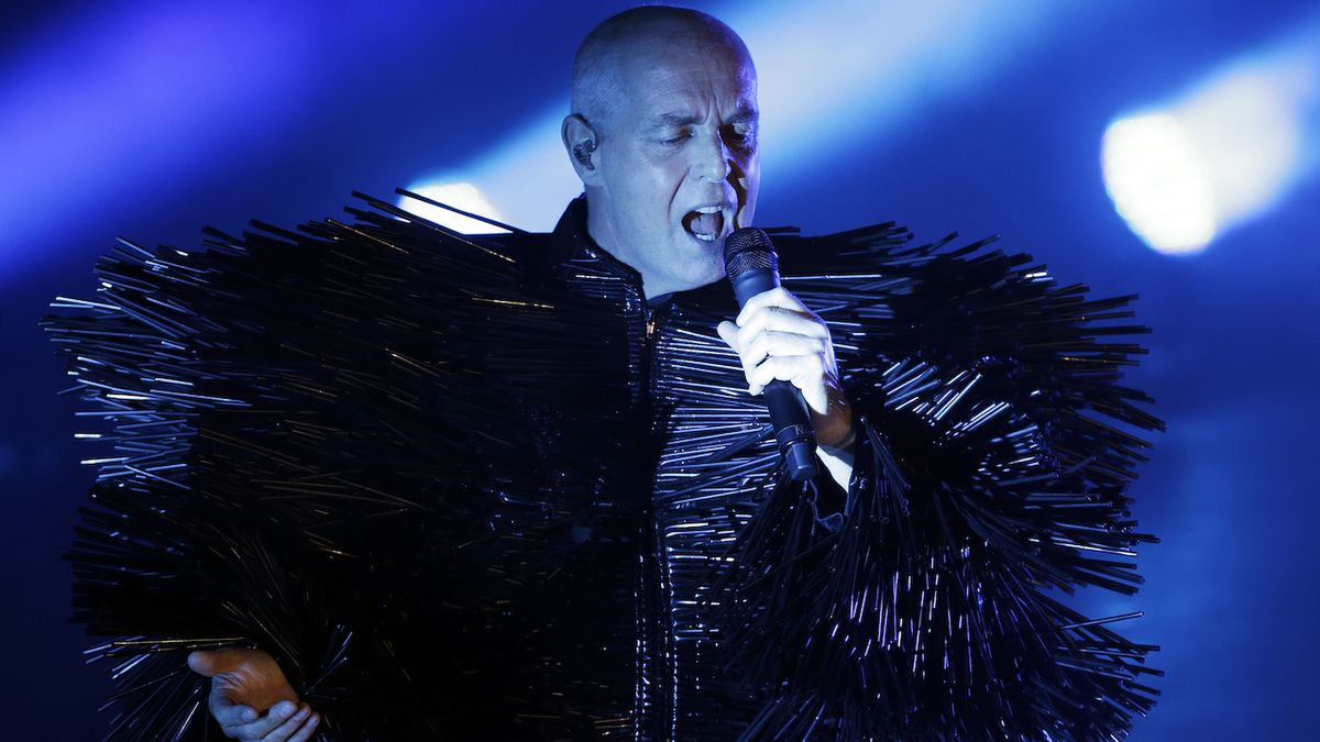 Neil Tennant z Pet Shop Boys.