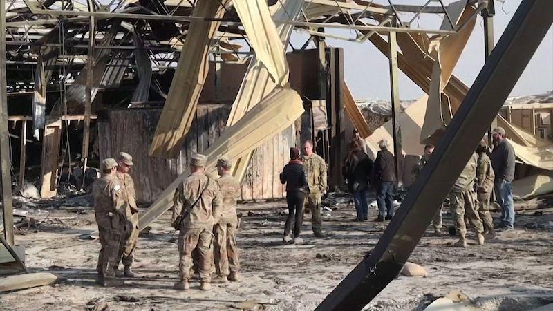 Američtí vojáci se ve strachu před íránskými raketami vrhali do Saddámových bunkrů