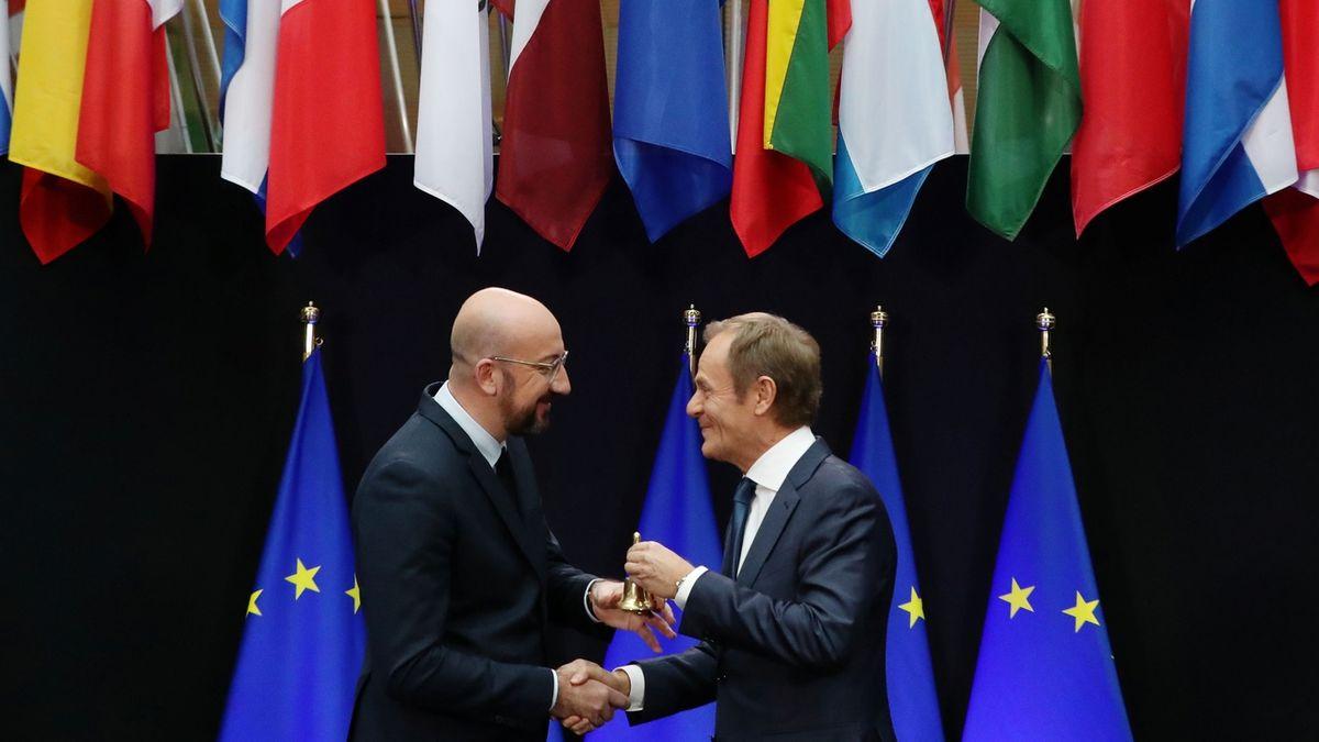 Michel převzal od Tuska vedení Evropské rady. Zaměří se na klima a bezpečnost