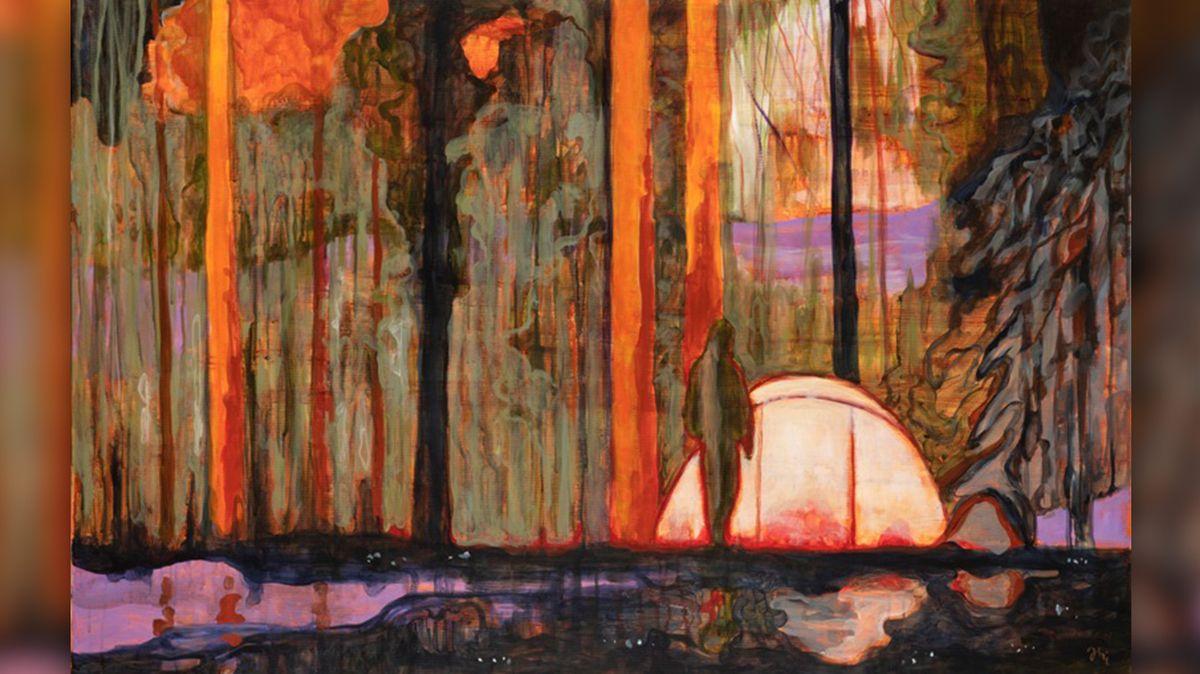 Jiří Hauschka vystavuje díla odkazující k Twin Peaks