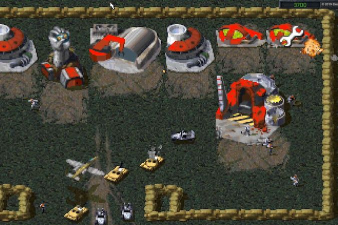 Ukázka ze hry Command & Conquer Remaster