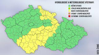 Varování meteorologů: Česko čeká první výraznější sněžení