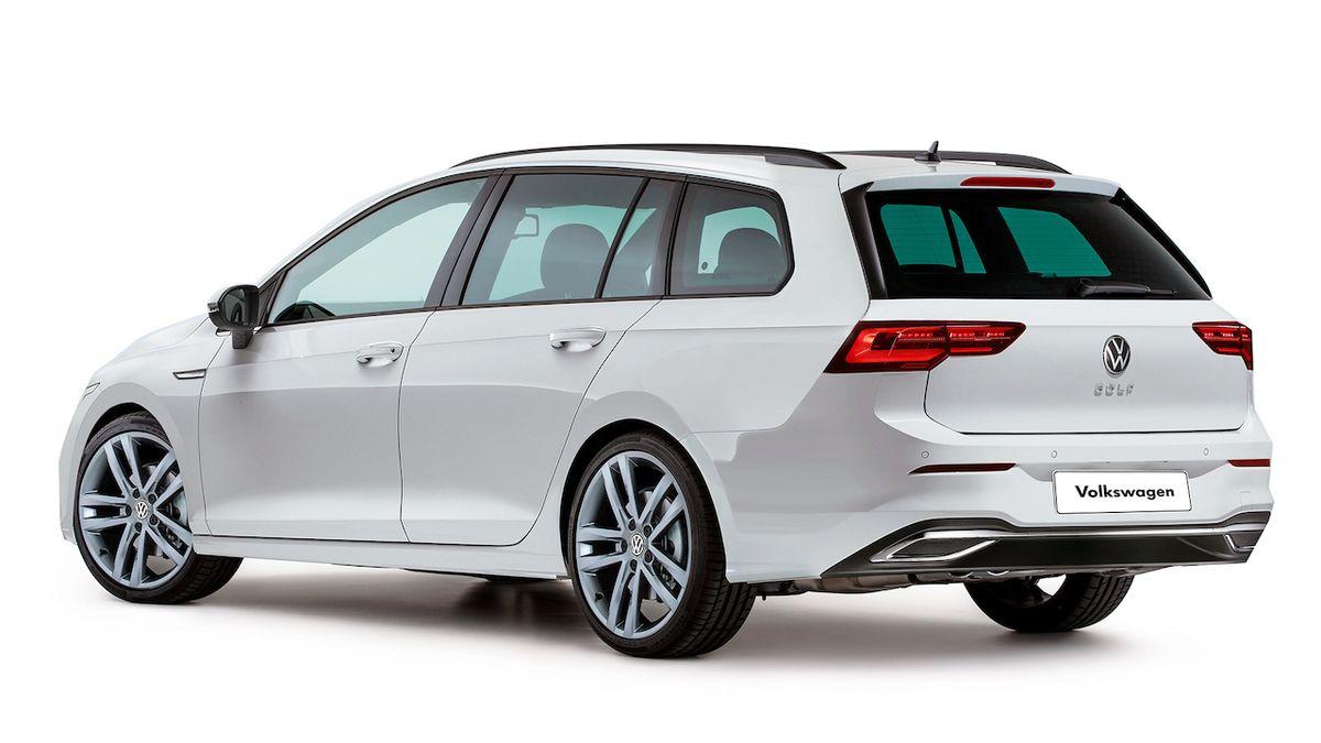 Tak by mohl vypadat nový Volkswagen Golf kombi