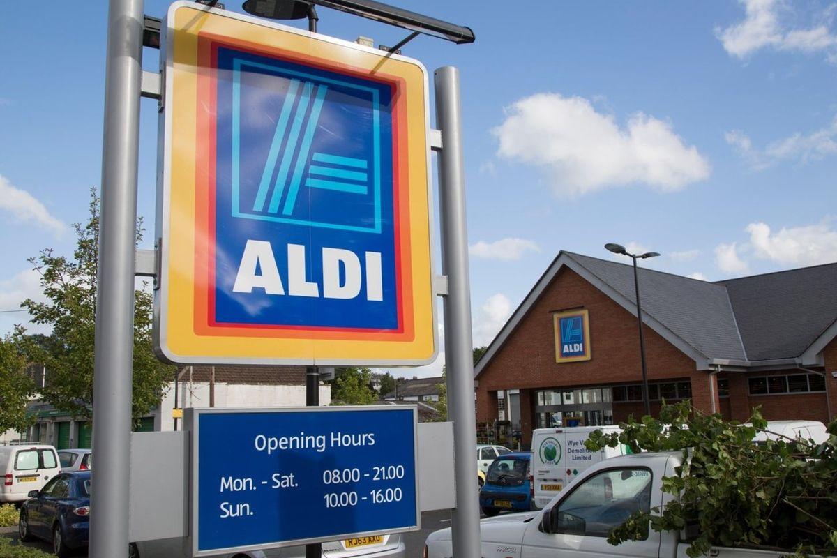 Prodejna Aldi ve Walesu