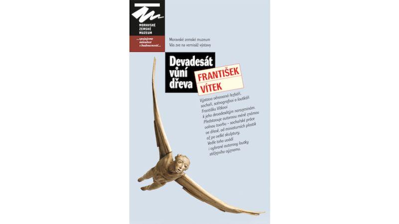 Devadesát vůní dřeva – přivonět si vybízí výstava jubilanta Františka Vítka vMoravském zemském muzeu