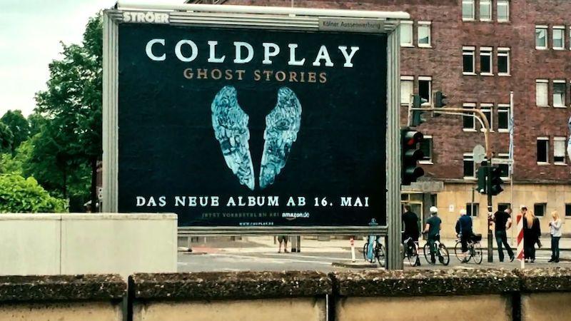 Dokument Křídla pro Coldplay bude mít premiéru v únoru