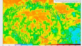 Vítr bude nejsilnější večer, hladiny řek budou stoupat, varovali meteorologové