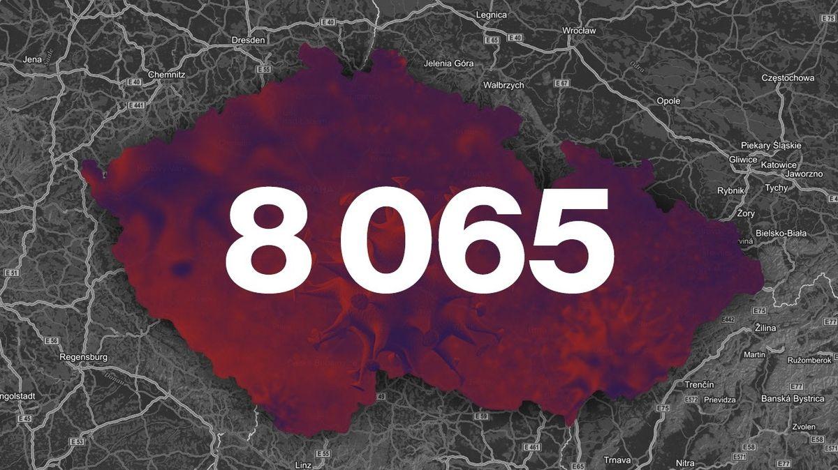 ON-LINE: Případů koronaviru od rána v ČR přibylo 31 na 8065