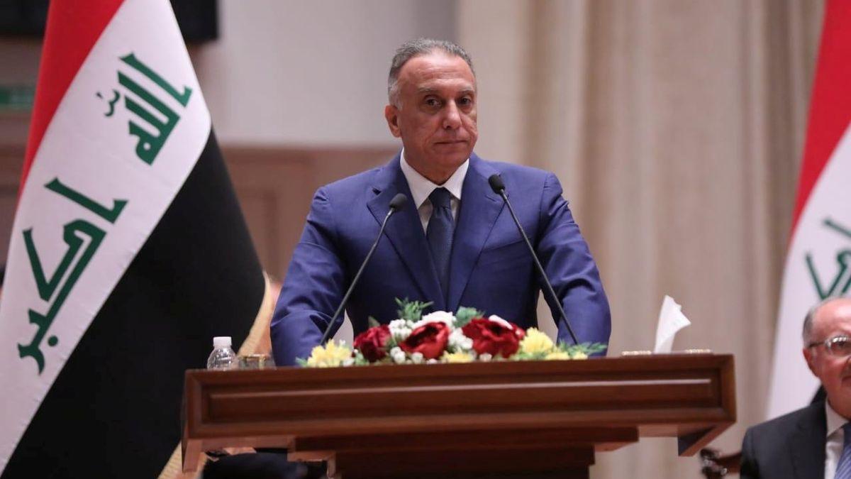 Irácký premiér Mustafá Kázimí