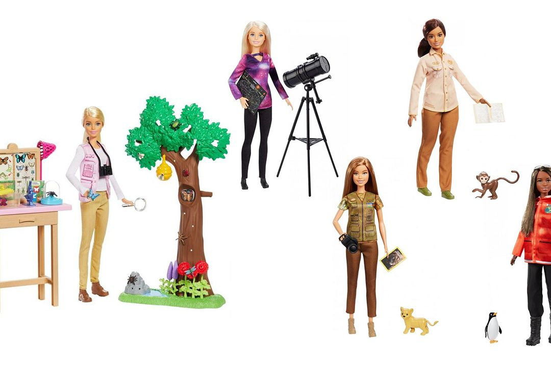 Panenky Barbie z edice National Geographic