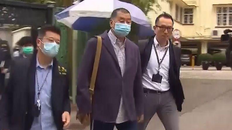 Hongkongská policie zatkla šéfredaktora opozičního deníku