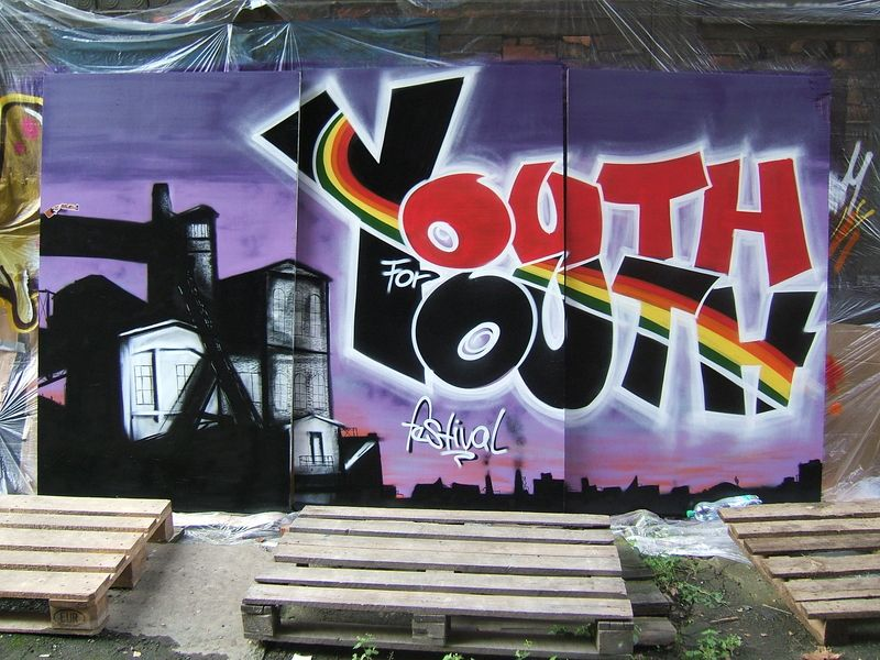 YOUTH4YOUTH 2010, Grafitty jam.