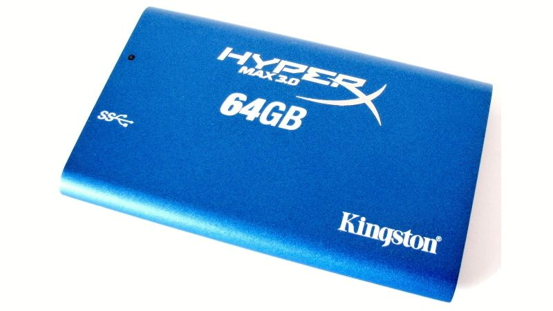 Kingston HyperX Max 64GB - horní strana boxu