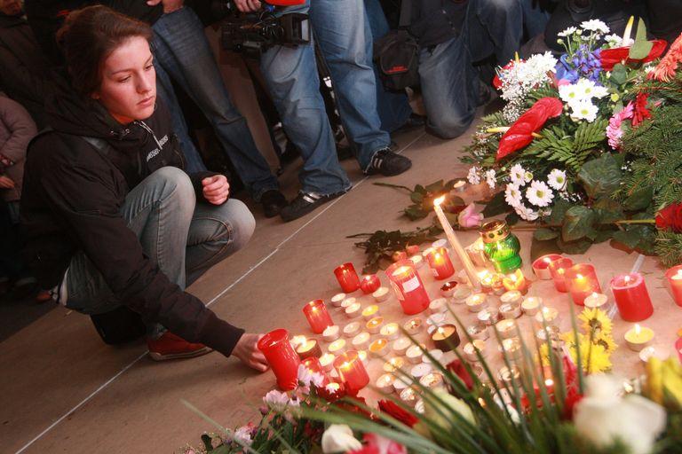 Lidé si připomínají památku 17. listopadu