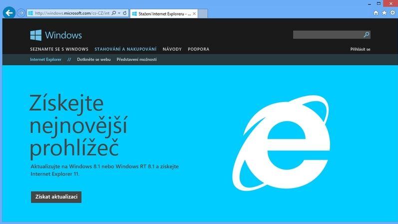 Další hřebík do rakve Internet Exploreru. Balík Microsoft 365 ukončil podporu