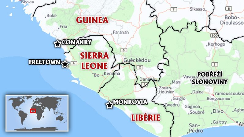 V Guineji probíhá převrat